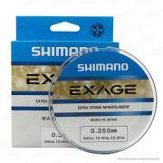 Linha de Pesca Shimano Exage Monofilamento Extra Forte 300m 0,355mm 10,4kg