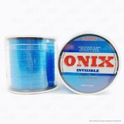 Linha Fastline Onix Invisible Azul 0,370mm 30LB - 13,5kg Nylon 500M