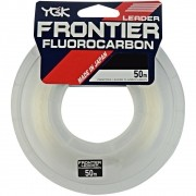 Linha Leader Fluorcarbon Shock Frontier YGK 12 0,58mm 40lb