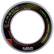 Linha Maruri By Nakamura Carbon Shock Leader 0.39mm 19.3lb 50m