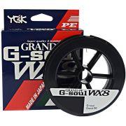 Linha Multifilamento G Soul Grand PE Line WX8 YGK 8 Fios 0,29mm 45lb 300 metros Verde