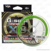 Linha Multifilamento G Soul Upgrade PE X8 Real Sports YGK 8 Fios 0,29mm 50lb 200 metros