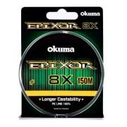Linha Multifilamento Okuma Epixor 8x 31lbs 0,21mm 14kg 150m