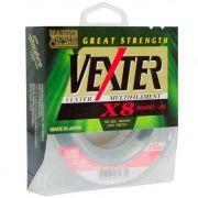 Linha Multifilamento Vexter X8 8 Fios Trançados Marine Sports 150m Green 0,25mm 30LB