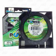 Linha Power Pro Multifilamento 300YDS (verde) 0,32mm 40Lbs 8 Fios - 18Kg 275m