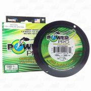 Linha Power Pro Multifilamento 300YDS (verde) 0,56mm 150Lbs 8 Fios - 70Kg 275m