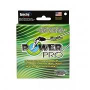 Linha Power Pro Multifilamento 4 Fios 0,23mm 20Lbs 137m Verde