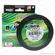 Linha Power Pro Multifilamento 4 Fios 0,41mm 65Lbs 137m Verde