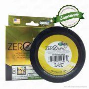Linha Power Pro Zero Impact Multifilamento 300YDS (verde água) 0,23mm 20Lbs 4 Fios - 9Kg 275m