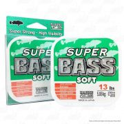 Linha Super Bass Green (verde) Marine Sports 0,285mm 13lb Monofilamento 250m