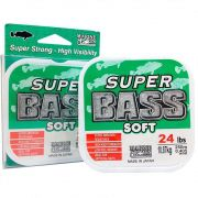 Linha Super Bass Green (verde) Marine Sports 0,405mm 24lb Monofilamento 250m