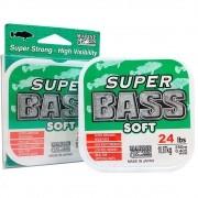 Linha Super Bass Green (verde) Marine Sports 0,405mm 24lb Monofilamento 250m
