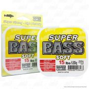 Linha Super Bass Yellow (amarela) Marine Sports 0,310mm 15lb Monofilamento 250m