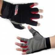 Luva para Pesca Esportiva Monster 3X Lycra X-Gloves Meio Dedo