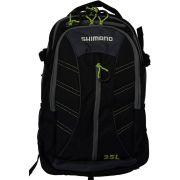 Mochila Shimano Backpack 25 Litros LUG1510 Preta e Verde