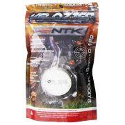 Munição Velozter para Airsoft Nautika 6 mm 0,12g Pacote com 2000 unidades