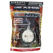 Munição Velozter para Airsoft Nautika 6 mm 0,25g Pacote com 4000 unidades