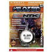 Munição Velozter para Airsoft Nautika 6 mm 0,28g Pacote com 3500 unidades