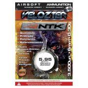Munição Velozter para Airsoft Nautika 6 mm 0,30g Pacote com 3500 unidades