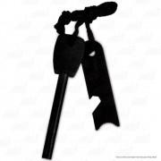 Pederneira Slim de Bolso em Magnésio 90cm Iniciador de Fogo Manual Echolife