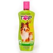 Shampoo Neutro para Cães e Gatos Filhotes e Adultos Top Vet Formula Suave 500ml