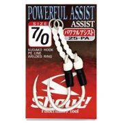 Suporte Hook Shout Powerful Assist Tamanho 7/0 Para Jigs Cartela com 2 unidades