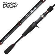 Vara de Pesca Laguna Daiwa 10-25lb 1,98m Ação Média para Carretilha 2 Partes LAG662MHFB-BR