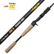 Vara de Pesca Pro-Tsuri PBC Peacock Bass para Carretilha 1,73m 10-20lb Ação Rápida Potência Média VCPBC5MH1020