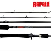 Vara de Pesca Rapala BlackMoon 5'6H 1,68m 17-25Lb para Carretilha