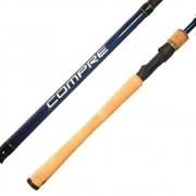 Vara de Pesca Shimano Compre 1,98m 4-10lb Ação Média 2 Partes CPS66ML2E Para Molinete