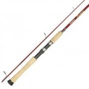 Vara de Pesca Shimano Stimula 1,82m 6-12lb Ação Rápida 2 Partes STS60M2B Para Molinete