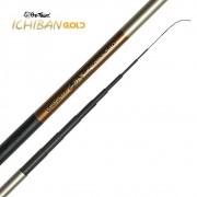 Vara de Pesca Telescópica Pro-Tsuri Ichiban Gold 5,40m 10 Partes 172g VTIGC540