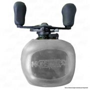 X-Bubble Capa Protetora de Carretilha Monster 3X Cor Transparente Manivela Esquerda