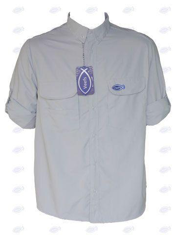 Camisa Masculina Veefs Cinza Tamanho P