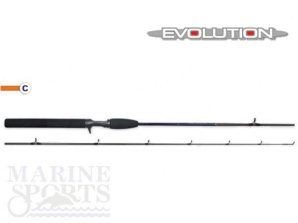 Vara Marine Sports Evolution MS-C 601MH 15-30LBS Ação Média Potência Pesada Carretilha 1 Parte