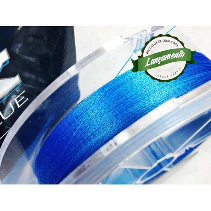 Linha Fastline Onix Braid Blue (azul) 2 0,25MM 24LB 150M