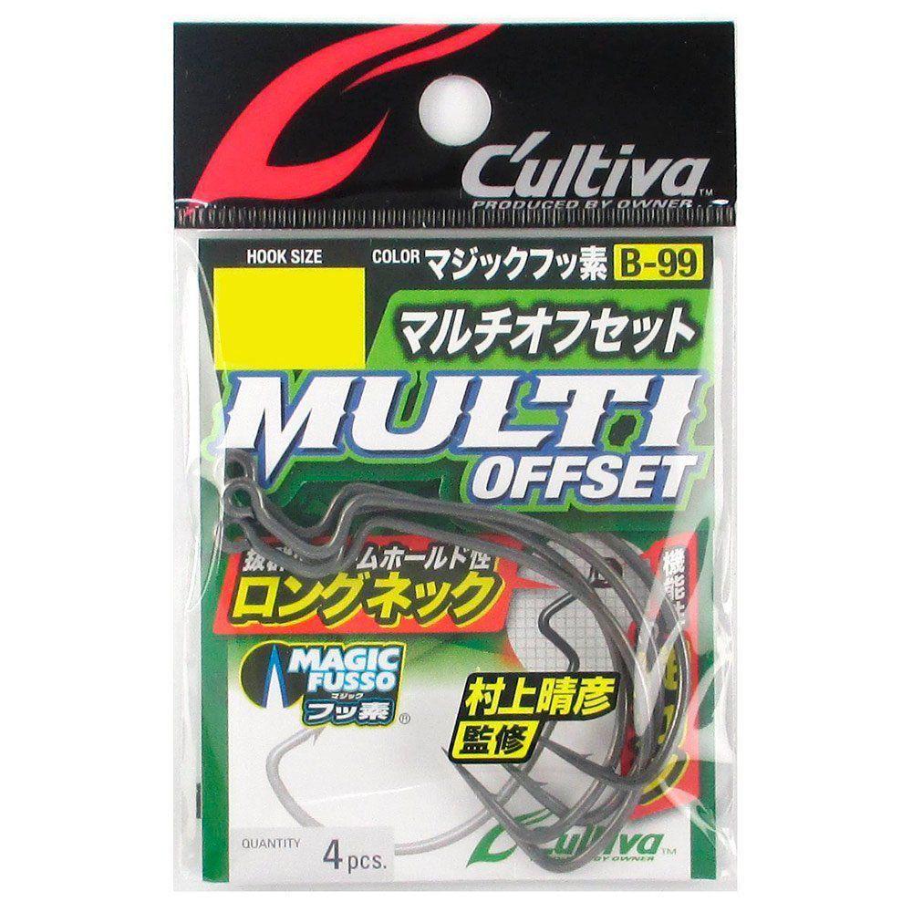 Anzol Cultiva Multi Offset B-99 Nº6/0 4un