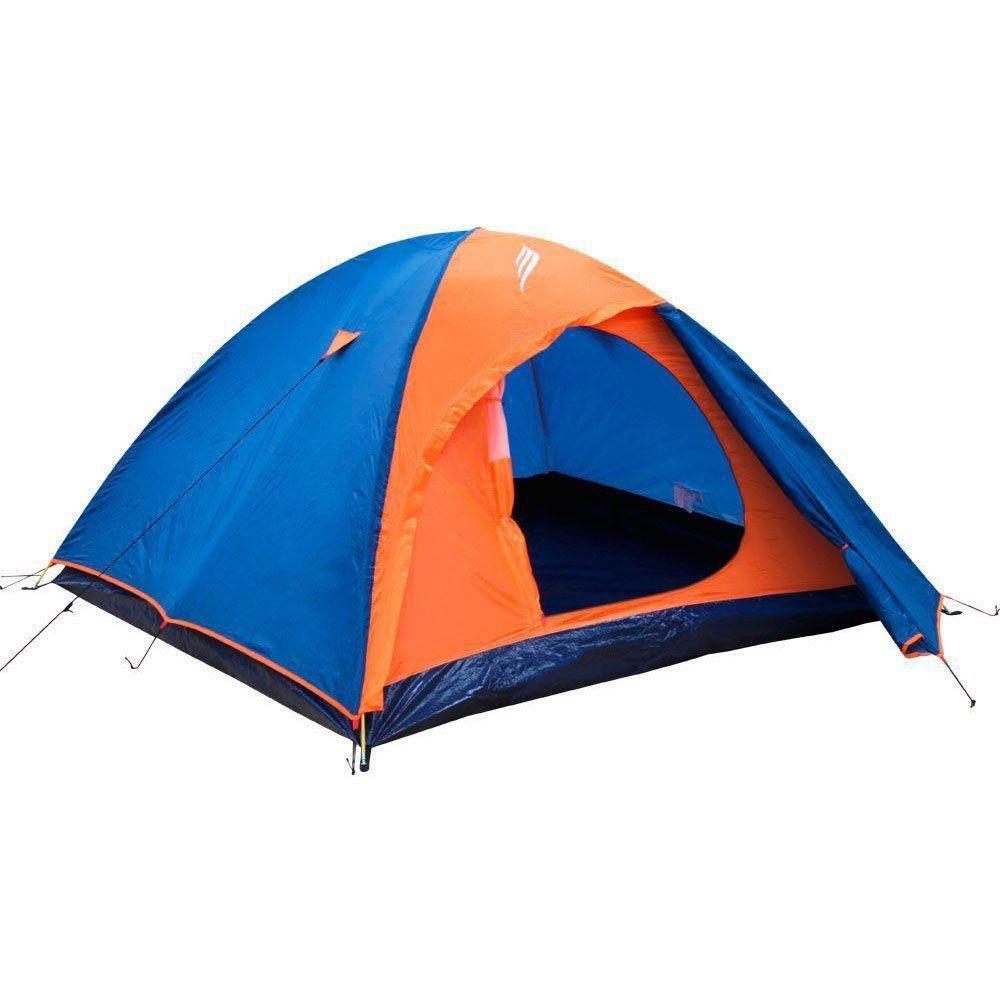 Barraca de Camping Nautika Falcon 3 para 3 Pessoas Iglu com Sobreteto