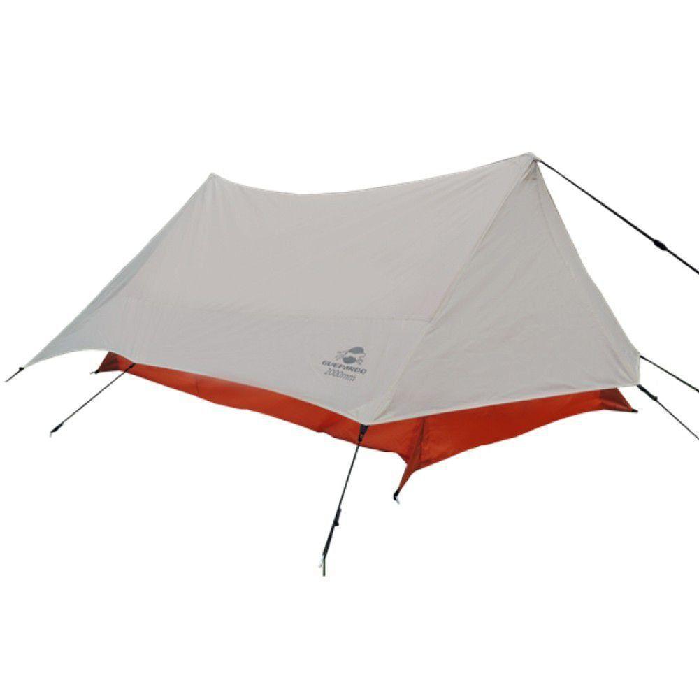 Barraca Trekking para 2 Pessoas Guepardo Resistente a Ventos e Chuva