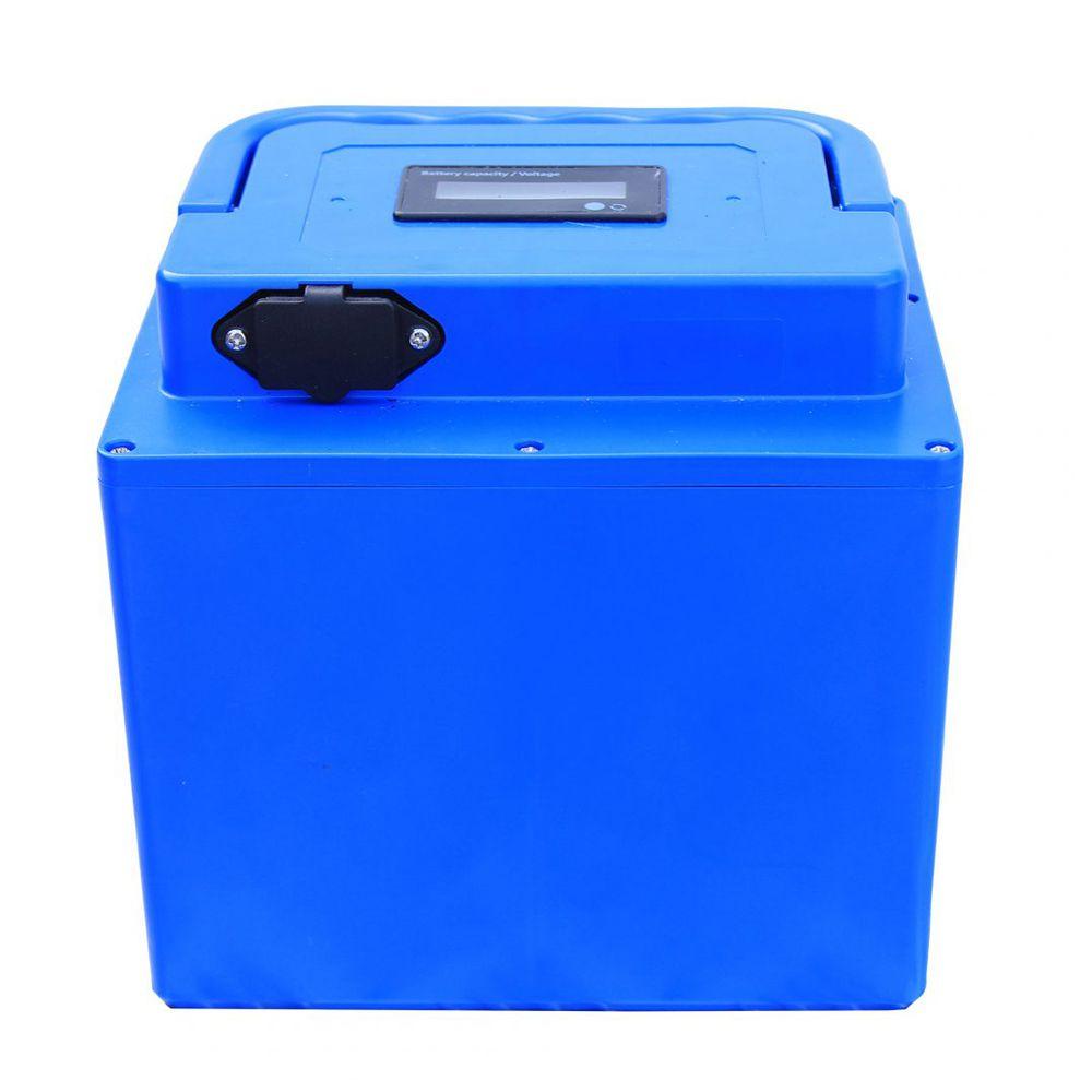 Bateria Pantaneiro Para Motor De Popa Jet Turbo Electric