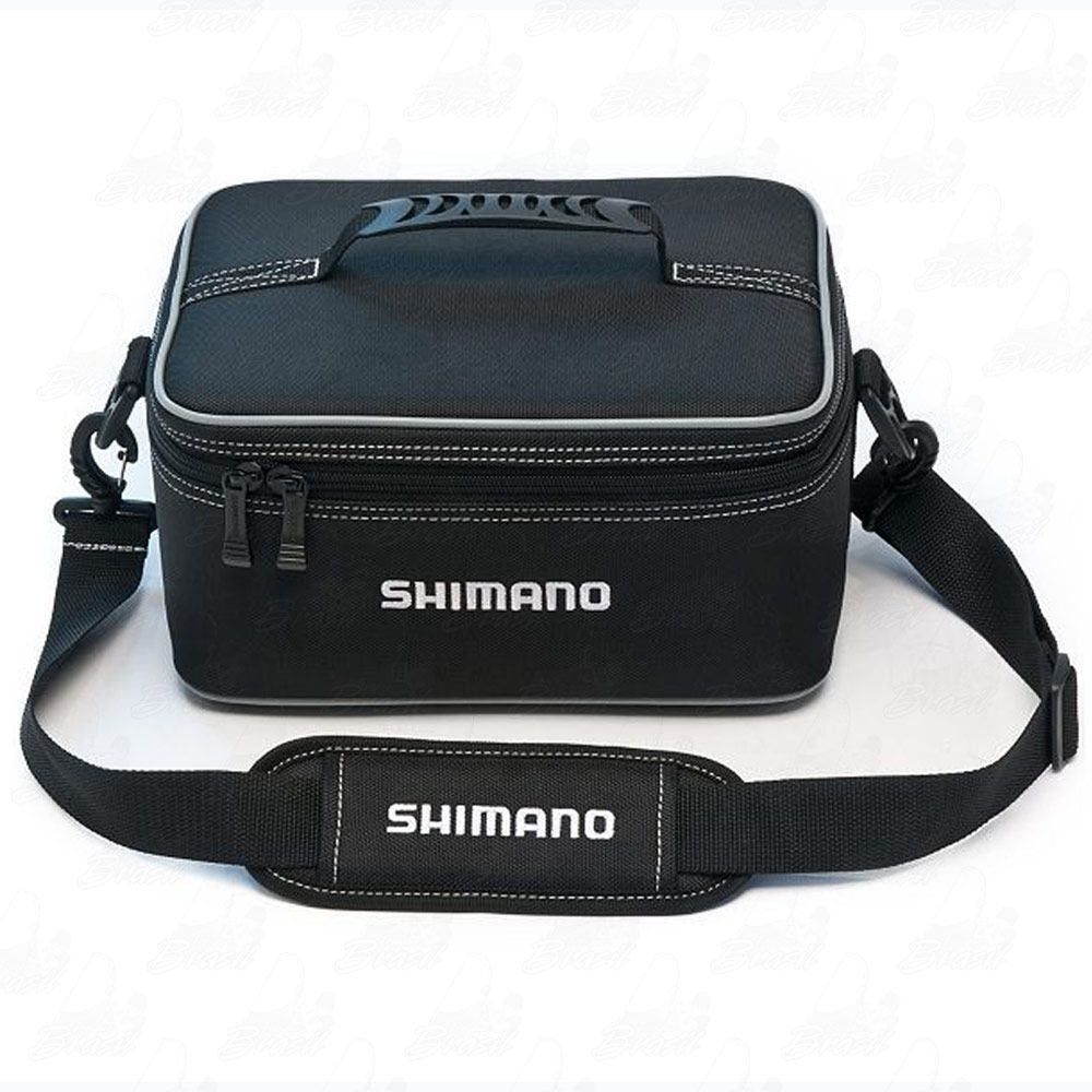 Bolsa Shimano Porta Carretilhas, Molinetes e Acessórios Bhaltair Reel 100 SBK - Selo CGK