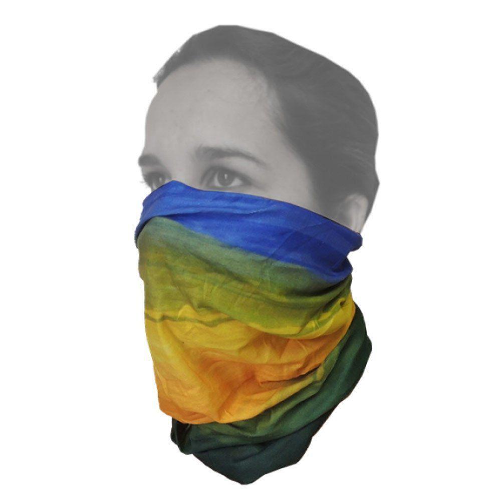 Máscara de Proteção Solar Breeze Guepardo Brasil GA0308 com Filtro UV