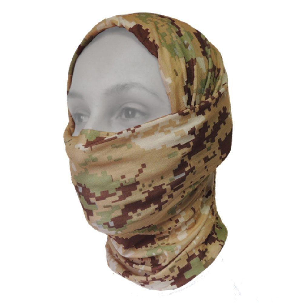 Máscara de Proteção Solar Breeze Guepardo Camuflage GA0305 com Filtro UV