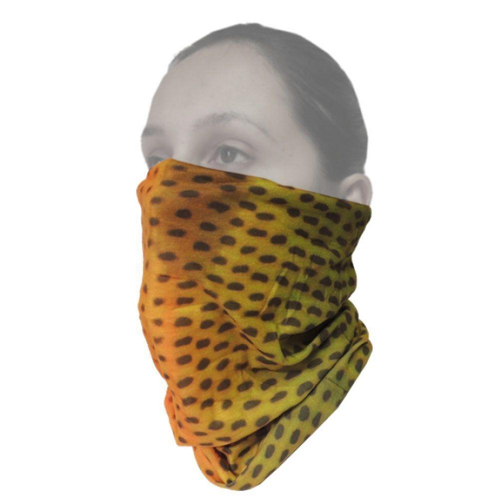 Máscara de Proteção Solar Breeze Guepardo Dourado GA0301com Filtro UV