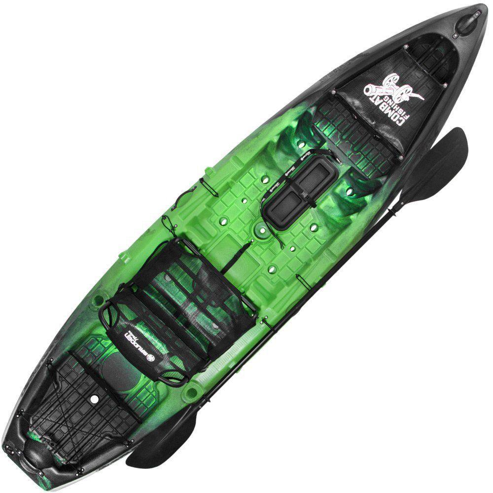 Caiaque Combat Fishing Brudden 30Kg Capacidade 210kg com Banco Pro