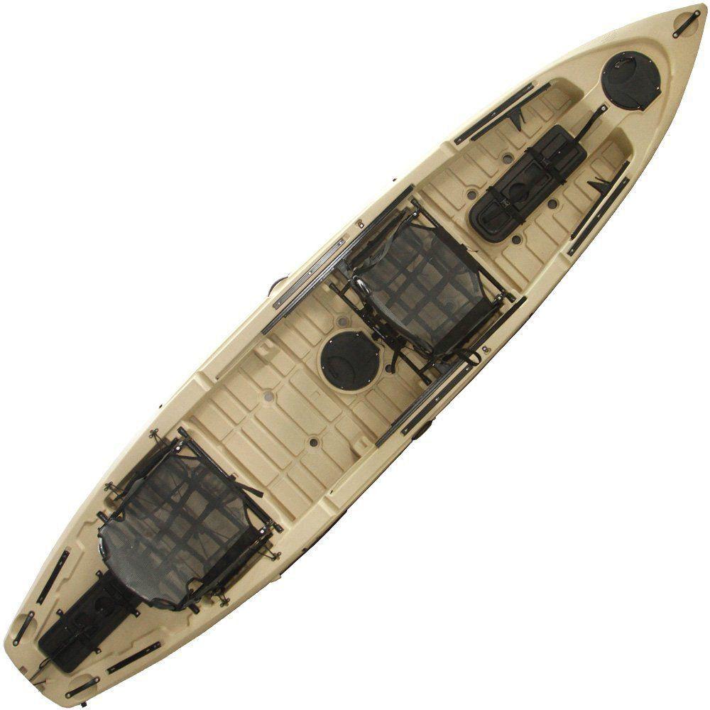 Caiaque de Pesca Caiman 135 Duo Hidro 2 Eko