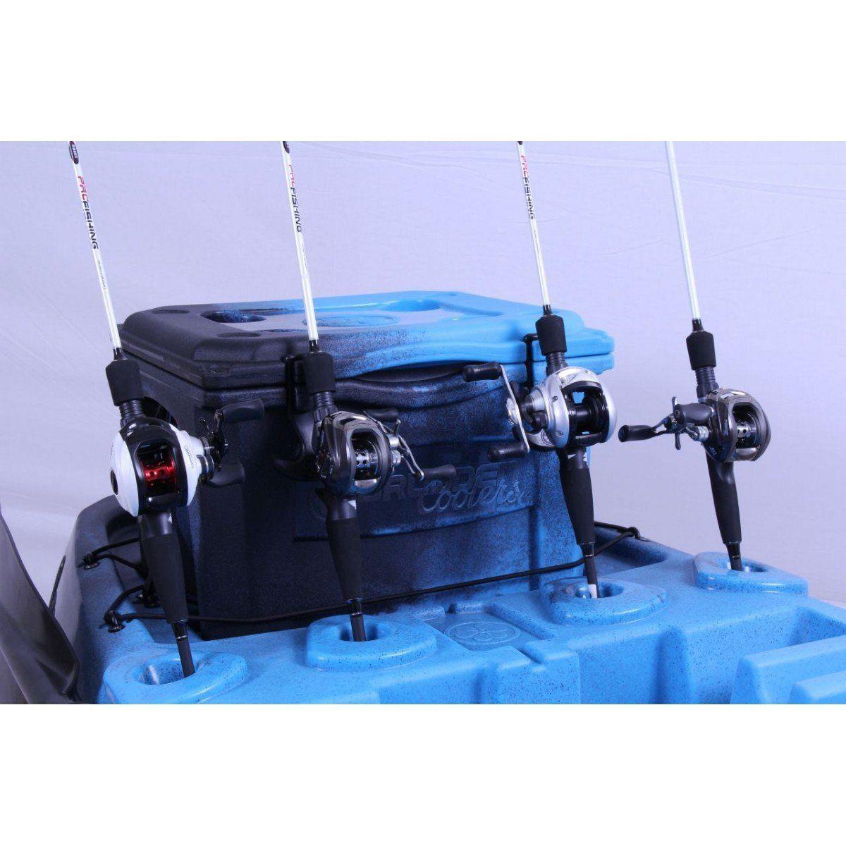 5a5fb68ae Caiaque Hunter Fishing 285 Brudden Náutica com Cooler Peso 24kg Carga 170kg