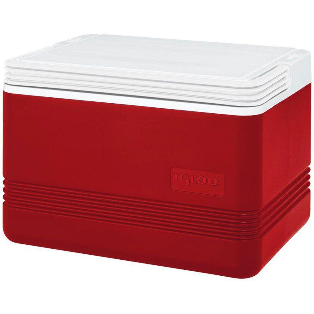Caixa Térmica Igloo Legend 8 Litros Vermelha