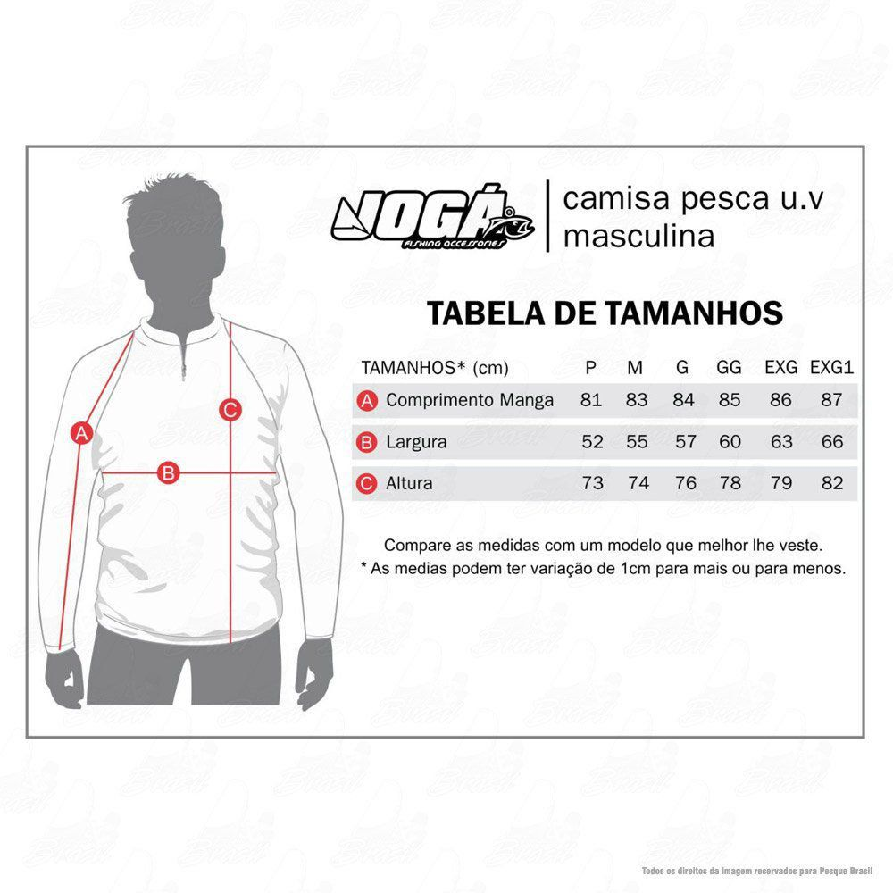 Camiseta de Pesca Jogá Robalo Proteção UV