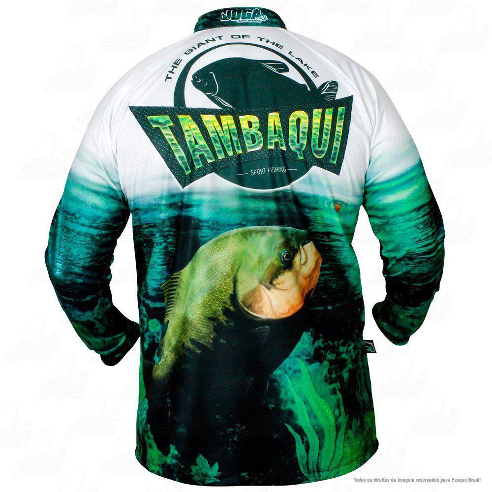 Camiseta de Pesca Jogá Tambaqui Proteção UV